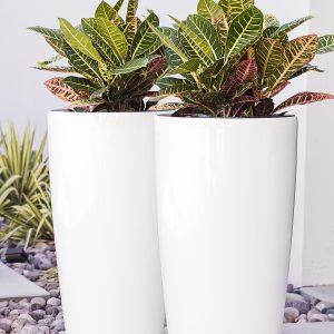 XBrand Self-Watering Planters PL3585WT