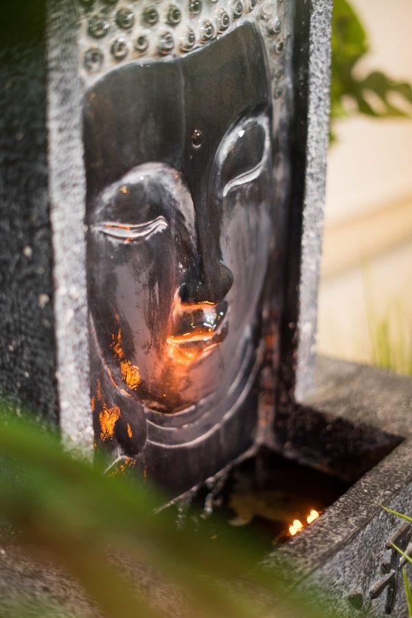 XBrand Buddha Waterfall Tabletop Fountain (BDFTN268)