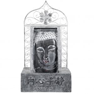 XBrand Buddha Waterfall Tabletop Fountain (BDFTN268)