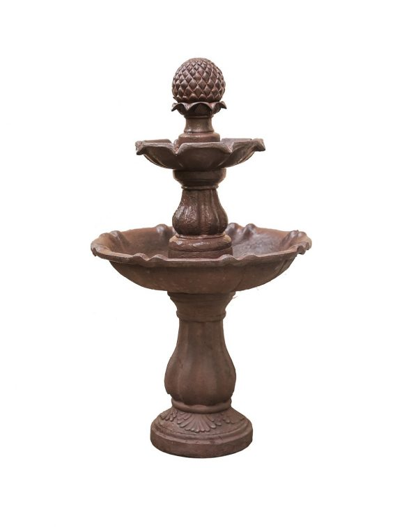 XBrand Brown Painted Freestanding Waterfall Fountain (FT973615)
