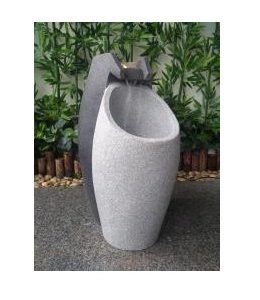 XBrand Modern Floor Waterfall Fountain (GE2512FTGR)