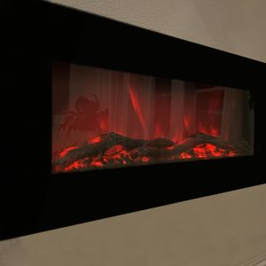 XBrand Wall Mount Adjustable Fireplace Heater (HT973790)