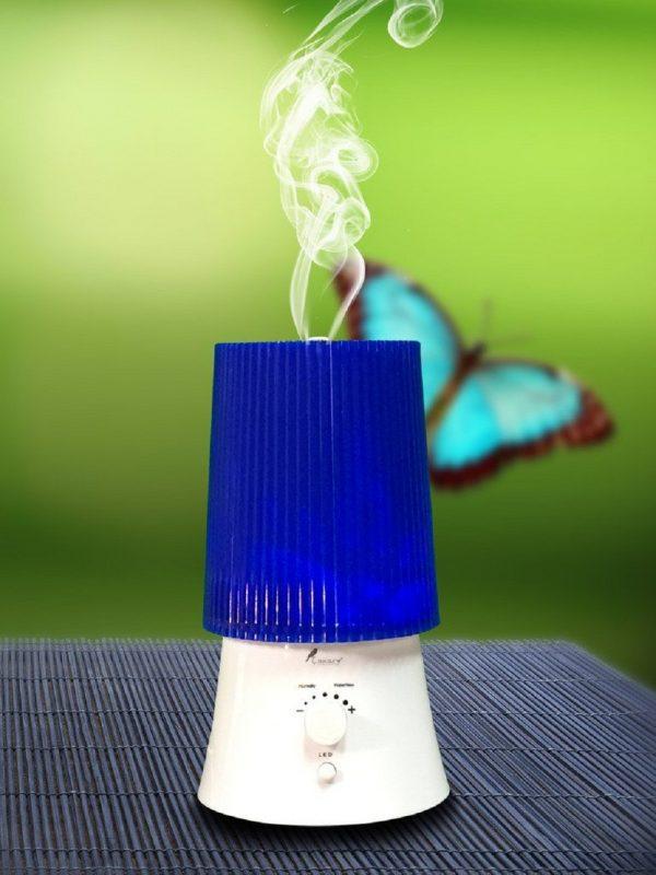 XBrand Modern Blue World Humidifier (HZ119BL)