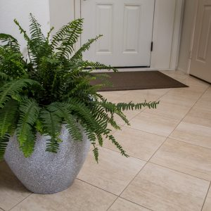 Grey Round Flower Pot Planter (PL1515GR)