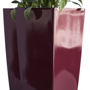 XBrand Red Self Watering Planter Pot (PL3509RD)