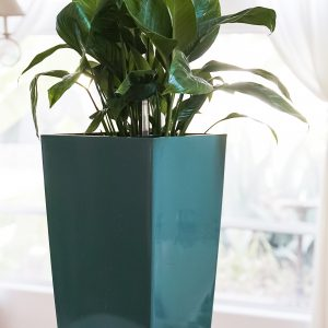 XBrand Turquoise Self Watering Planter Pot (PL3509TUR)