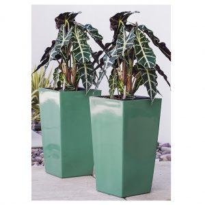 XBrand Turquoise Self Watering Planter Pot (PL3509TUR)