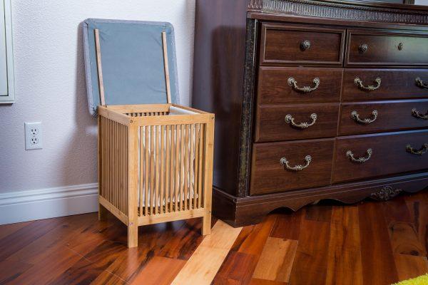 XBrand Bamboo Laundry and Storage Basket (ZR50165)