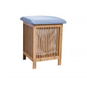 XBrand Bamboo Laundry and Storage Basket (ZR50165)